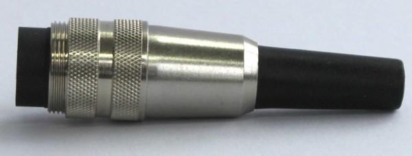 Stecker 4-pol. M16x0,75 gerade STE-4-G-16