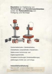 40 Jahre Handhabungskomponenten von Friedemann Wagner
