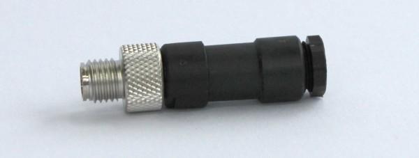 Plug 3-pin M8x1 straight, STE-3-G-8