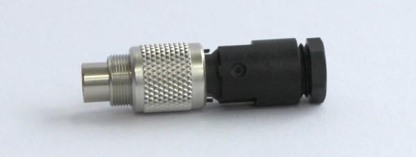Stecker 3-pol. M9x0,5 gerade STE-3-G-9