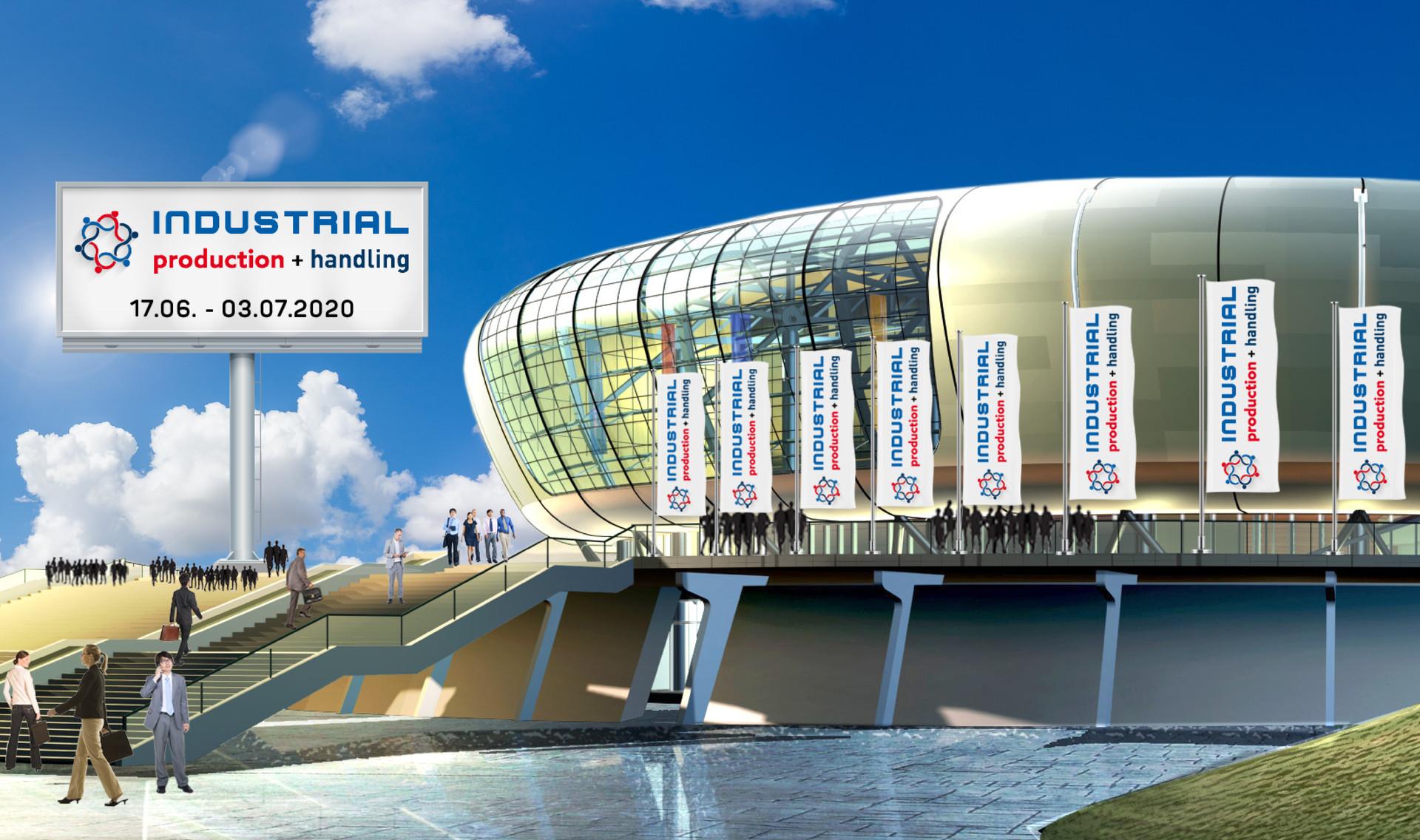Besuchen Sie uns in Halle 2 auf der virtuellen Messe INDUSTRIAL production+handling