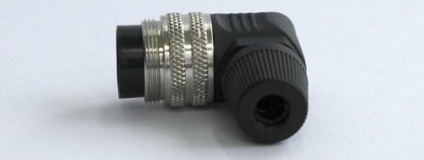 Buchse 12-pol. M16x0,75 winklig BUC-12-W-16