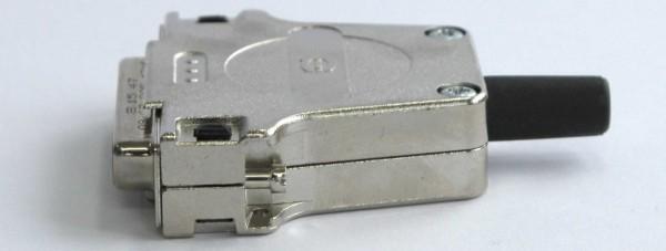 Socket 25-pin D-Sub straight BUC-25-D-25