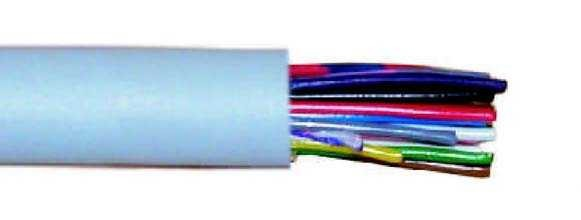 Control cable unshielded, 24 wires, KAB-24-B