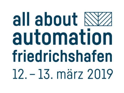 Exhibitor at the fair all about automation 2019 Friedrichshafen