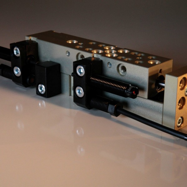 Linear Unit LSM-4-SM-65-H-0-0-P with shock absorbers