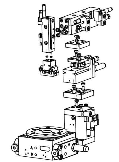Zentrier-System – modulares Fügen über Rastermaß und Zentrier-Ringe