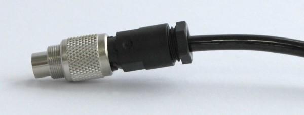 Kabelstecker 8pol. M9x0,5 gerade, KST-8-G-9-B-5